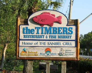 Timbers Restaurant And Fish Market On Sanibel Island